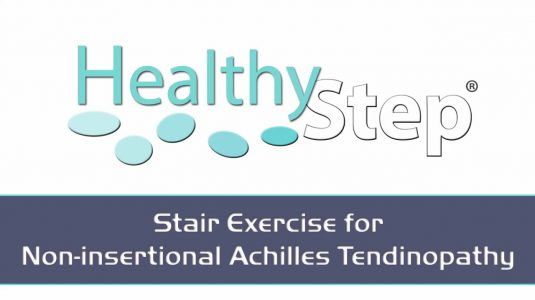 Stair Calf Exercise