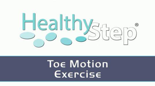 Toe Motion Exercise